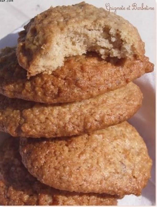 Biscuits Anzac aux flocons d'avoine