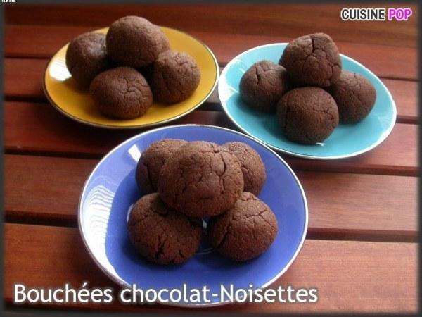 Bouchées Chocolat et Noisettes