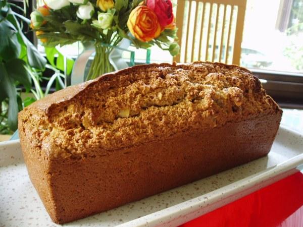 Cake à la farine de chataîgne, amandes et noisettes