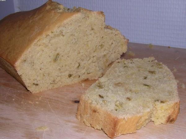 Cake au graines de fenouil