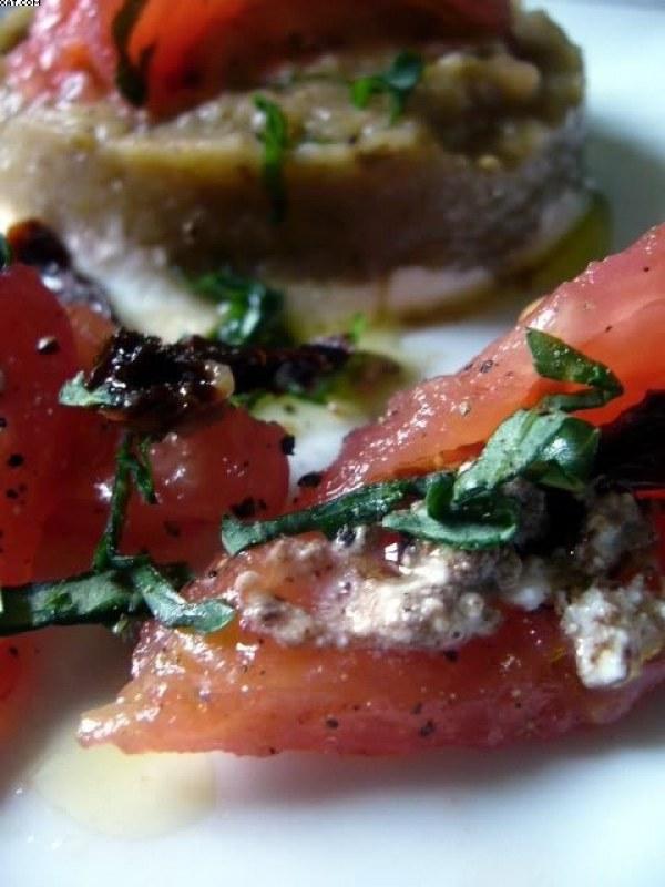 Caviar d'aubergines à l'italienne
