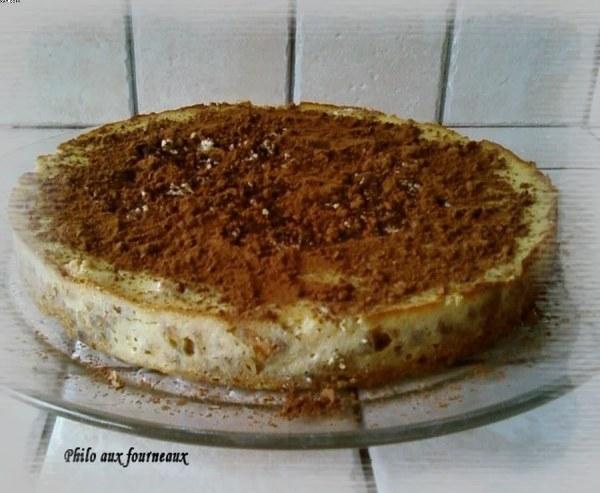 Cheesecake au Bailey's