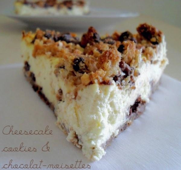 Cheesecake cookies-chocolat