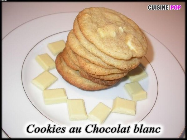Cookies au Chocolat blanc
