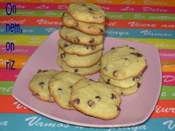 Cookies au quinoa et aux pépites de chocolat
