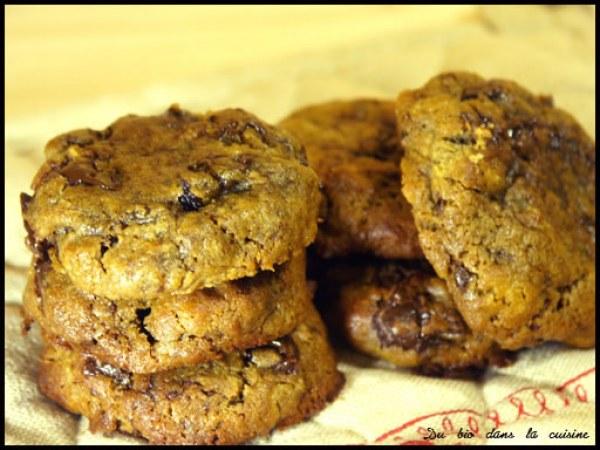 Cookies mélasse rhum-raisin