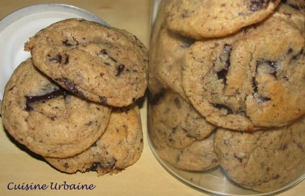 Cookies moelleux à la châtaigne et au chocolat