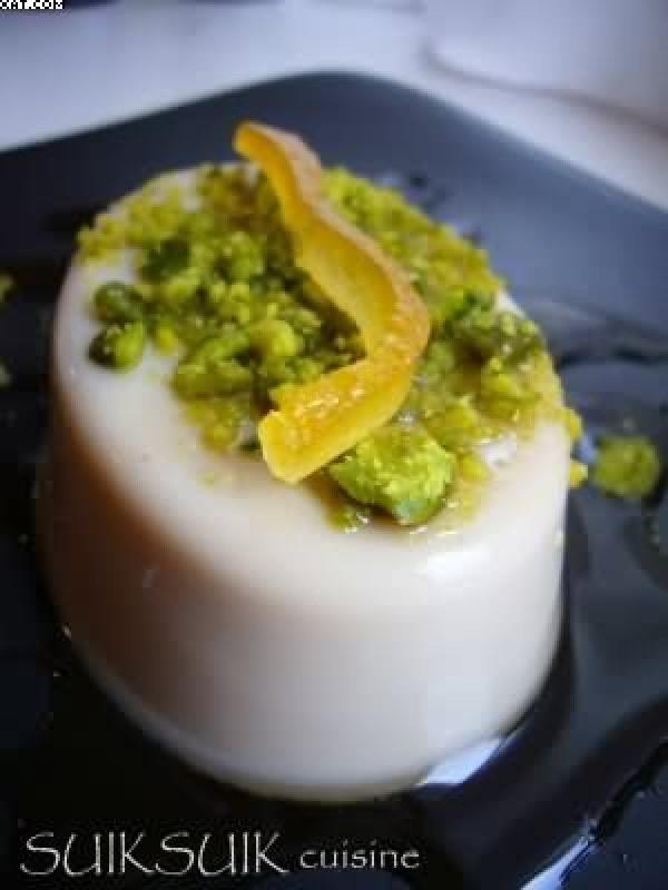 Crème à l'orange - Pistaches & Sirop d'érable