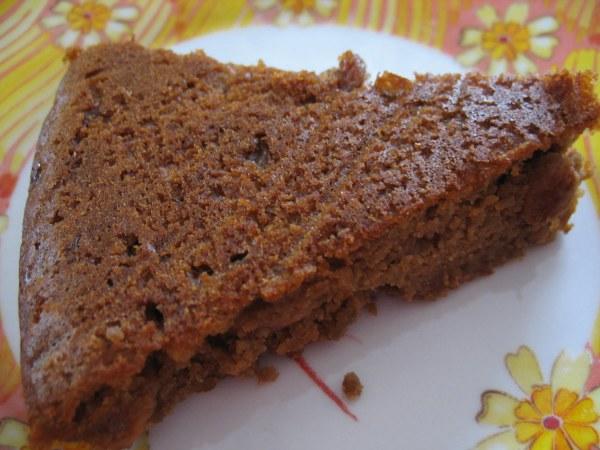 Gâteau à la purée de marrons