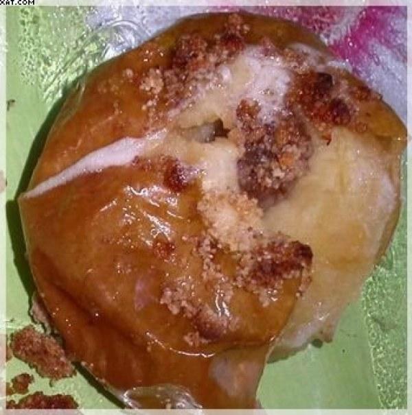 Pommes fourées façon crumble