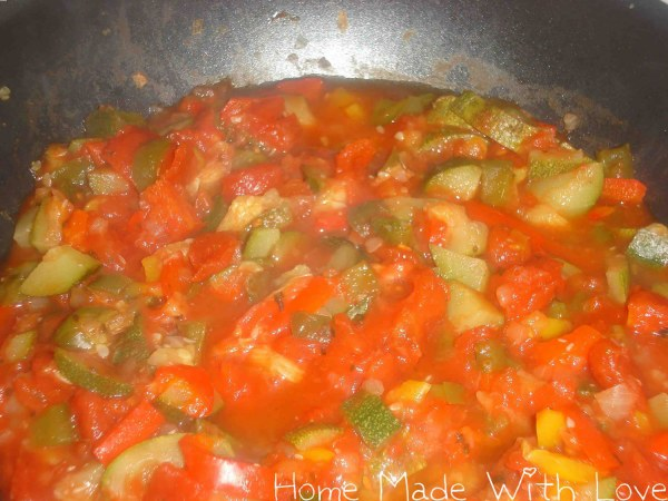 Ratatouille double tomate