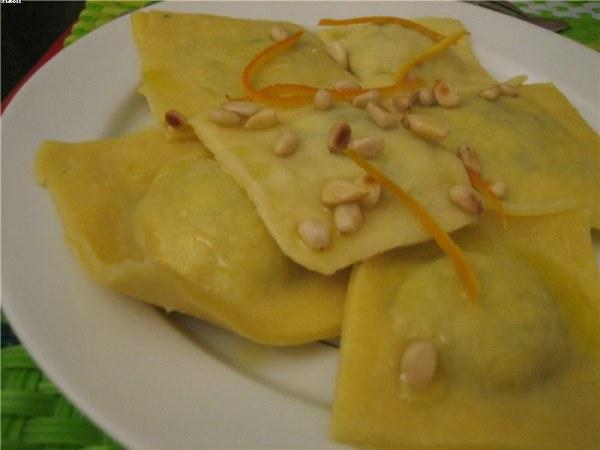 Raviolis king size épinards-tofu