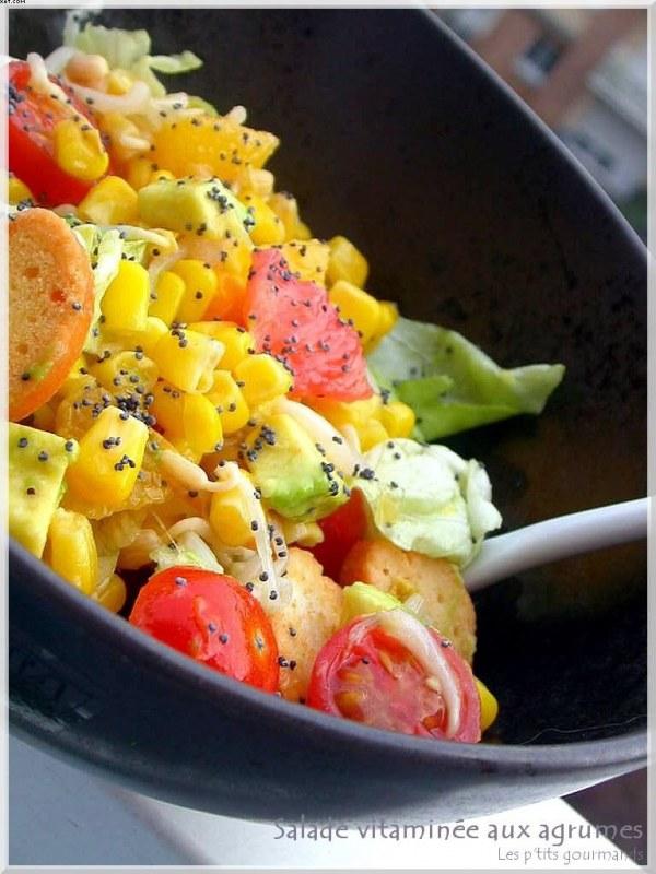 Salade vitaminée aux agrumes