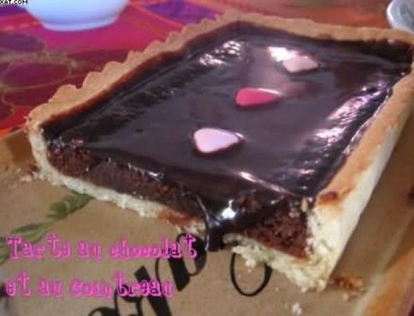 Tarte chocolat - cointreau