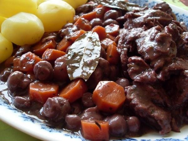 Boeuf bourguignon végétal