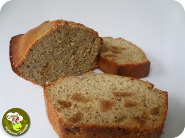 Cake au quinoa, noisettes et figues