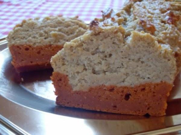 Cake kamut, tomate et fromage (Vegan)