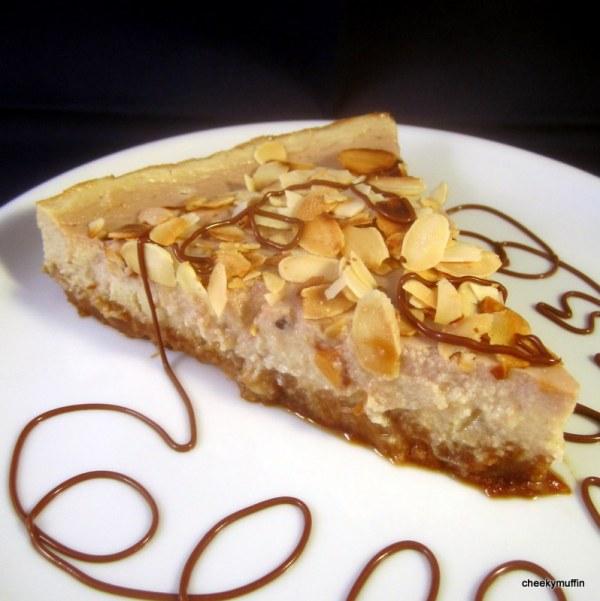 Cheesecake poire-amande (sans lactose)