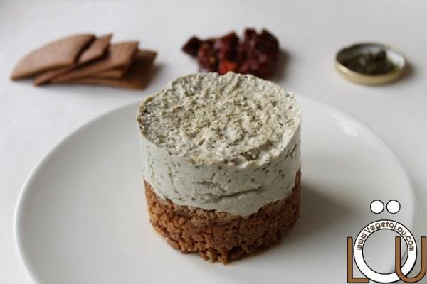 Cheesecake salé saveurs italiennes