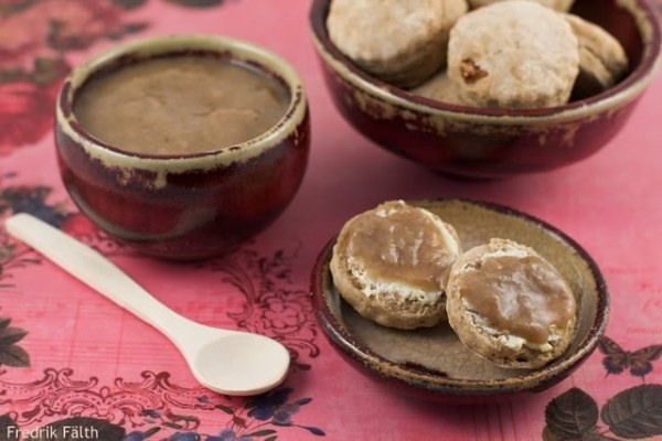 Confiture de lait de soja au sucre rapadura
