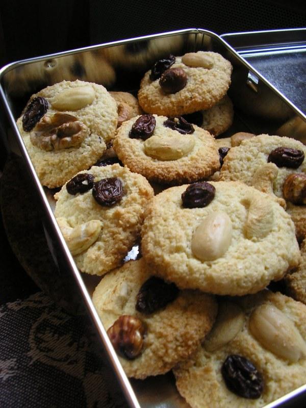 Cookies sans lait ni gluten