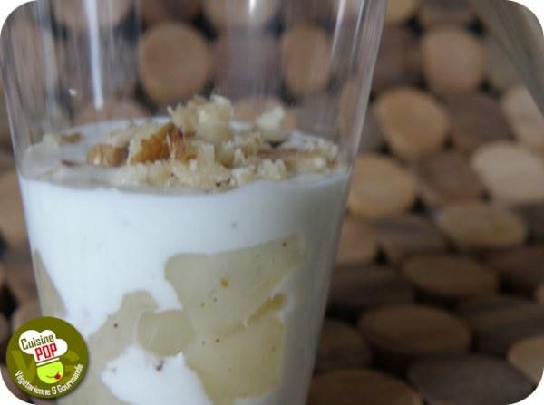Crème de roquefort aux poires