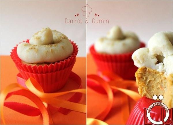 Cupcakes Carotte et Cumin