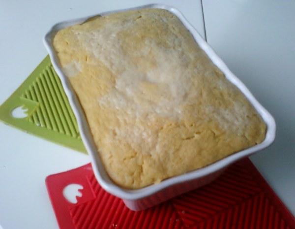 Flan de courgettes et patate douce cuisson vapeur