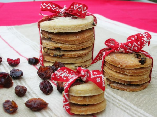 Galettes croustillantes cranberries sans gluten