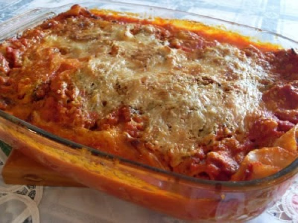 Lasagnes végétaliennes