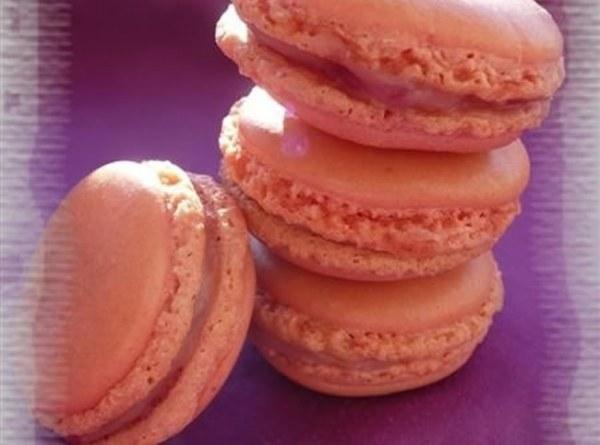 Macarons ganache Chocolat blanc & Framboises