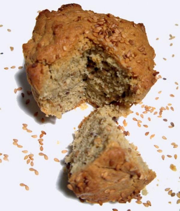 Muffins au sésame