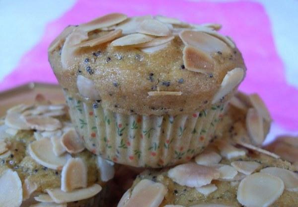 Muffins citron amandes (Vegan)