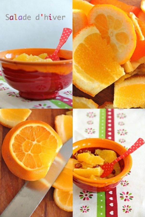 Oranges et dattes pour un dessert vitaminé