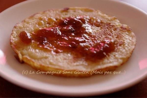 Pancakes sans lait et sans gluten