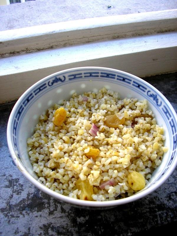 Salade de boulgour éthiopienne