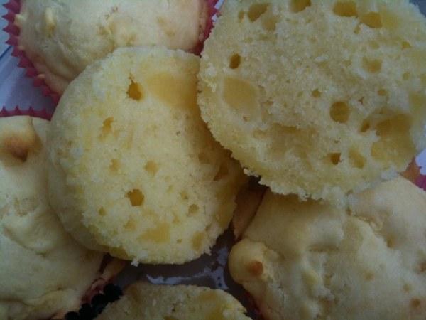 Scones pomme-citron sans oeuf et sans gluten