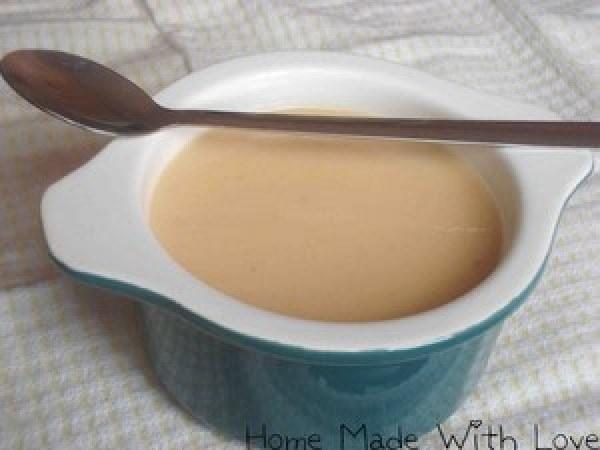Soupe blanche au chou fleur