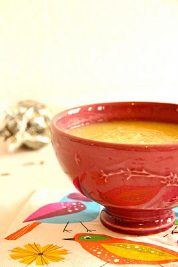 Soupe de panais aux saveurs d'été