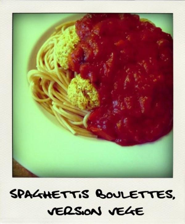 Spaghettis - boulettes