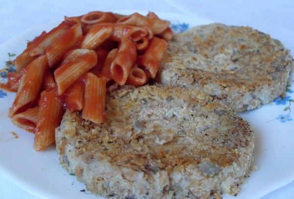 Steaks d'haricots blancs et flocons d'épeautre (Vegan)