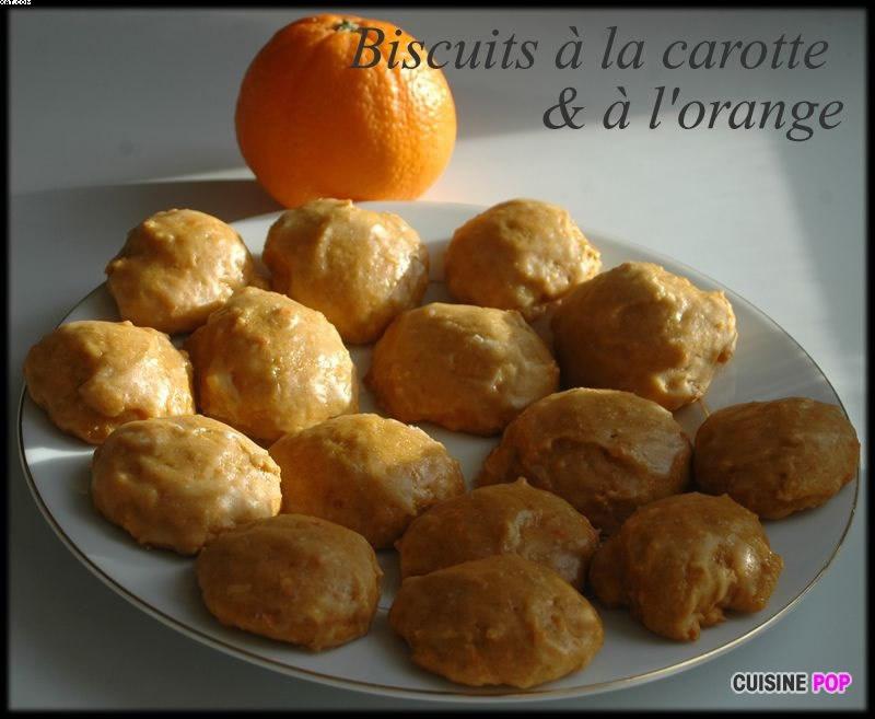 Biscuits à la Carotte & à l'Orange
