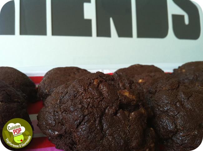 Biscuits aux deux chocolats