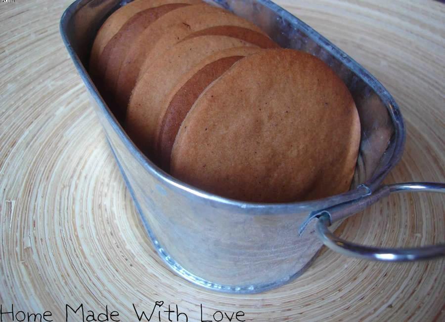 Biscuits chocolat-noisette