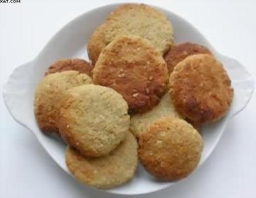 Biscuits croustillants à la noix de coco