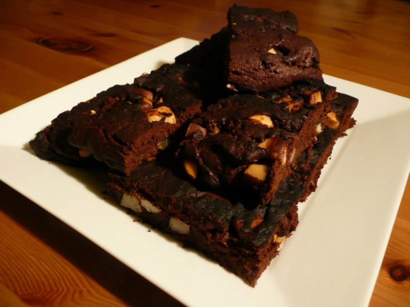 brownies aux noix de macadamia brownies vegan. Black Bedroom Furniture Sets. Home Design Ideas
