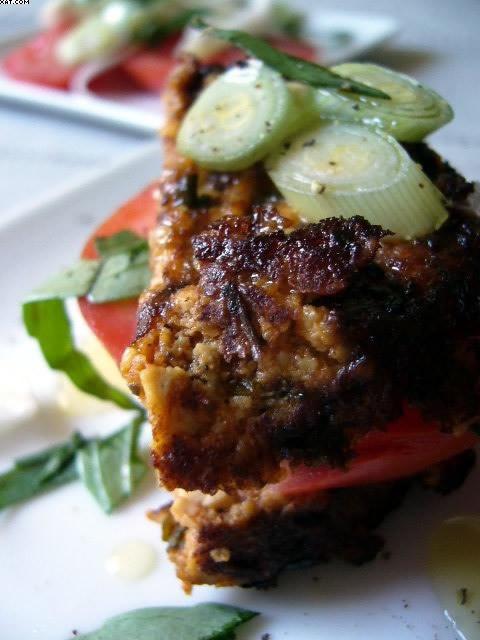 Burger végétal au tofu