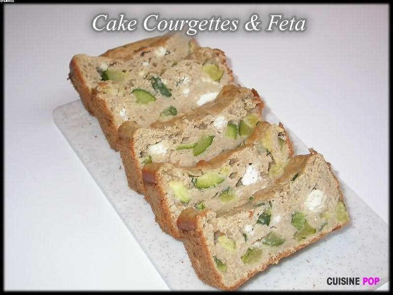 Cake Courgettes & Feta