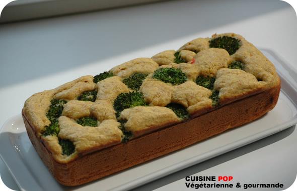 Cake au brocoli
