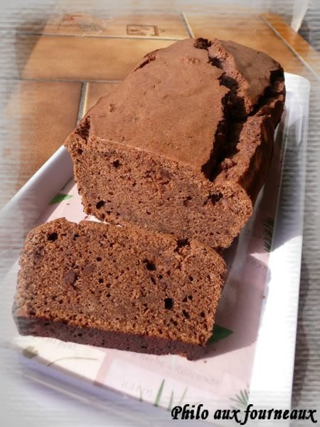 Cake au chocolat et Saint-morêt ®